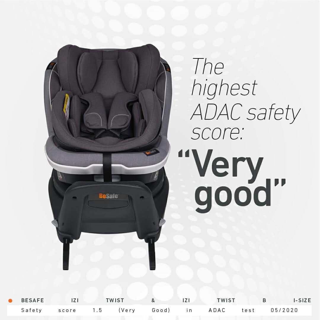 BeSafe rotacijske autosjedalice – najsigurnije autosjedalice za malu djecu na proljetnom ADAC testiranju